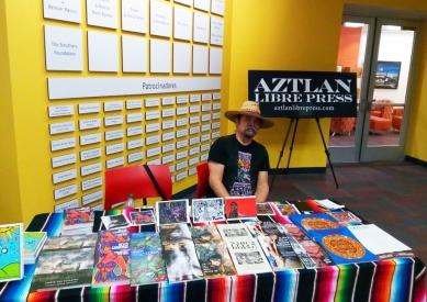 Juan w Aztlan Libre Press photo